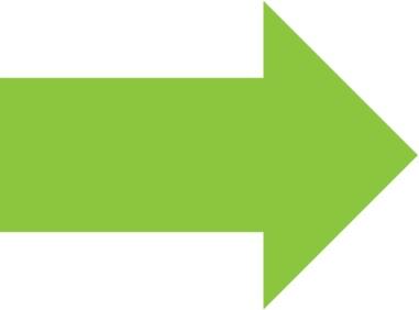 green-arrow-white-background