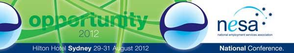 NESA National Conference Banner 2012