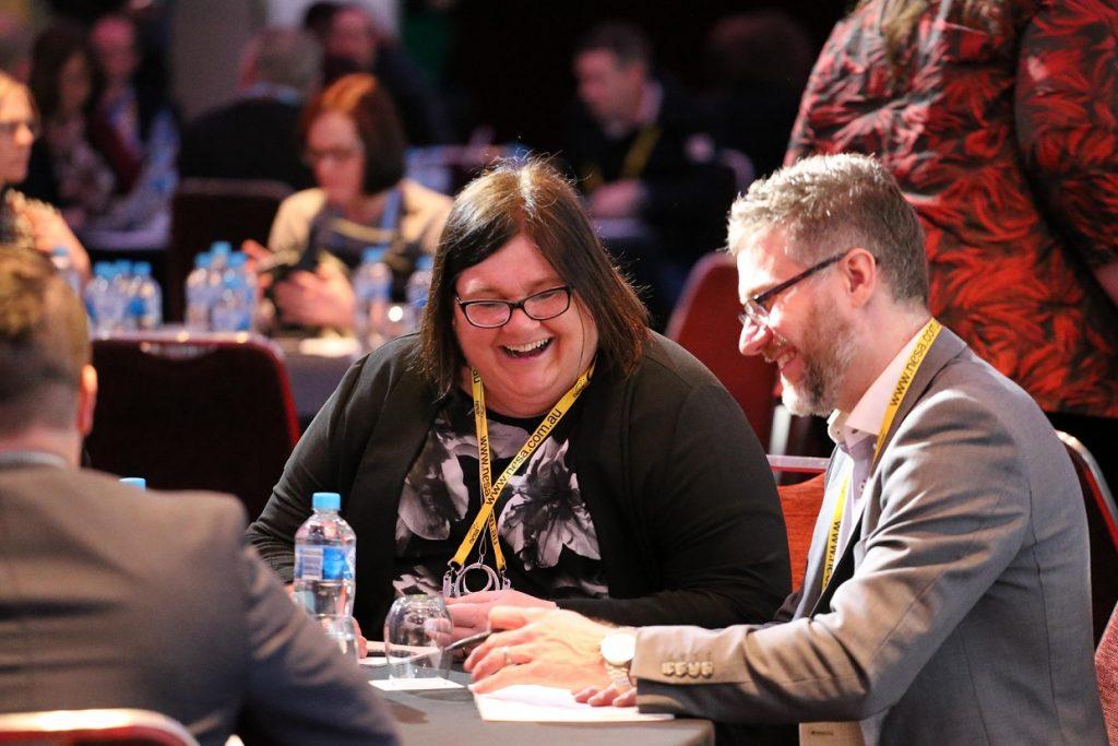 Delegate Conversation 1024x683 - NESA National Conference 2018