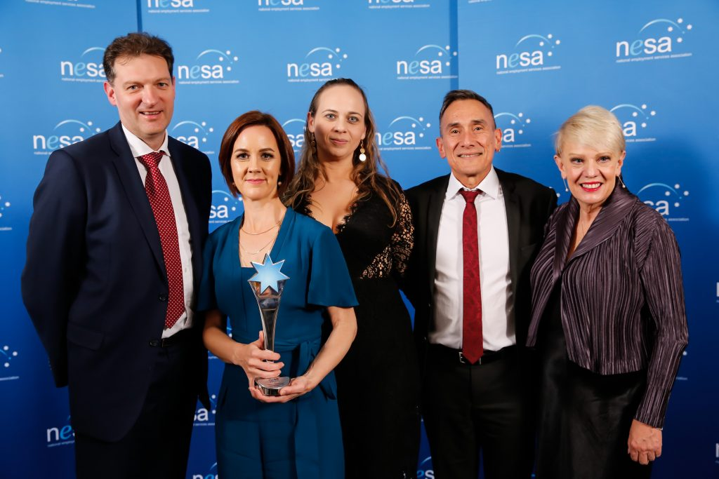 Excellence in Collaboration Winner - Sodexo, South Metropolitan TAFE and atWork Australia,