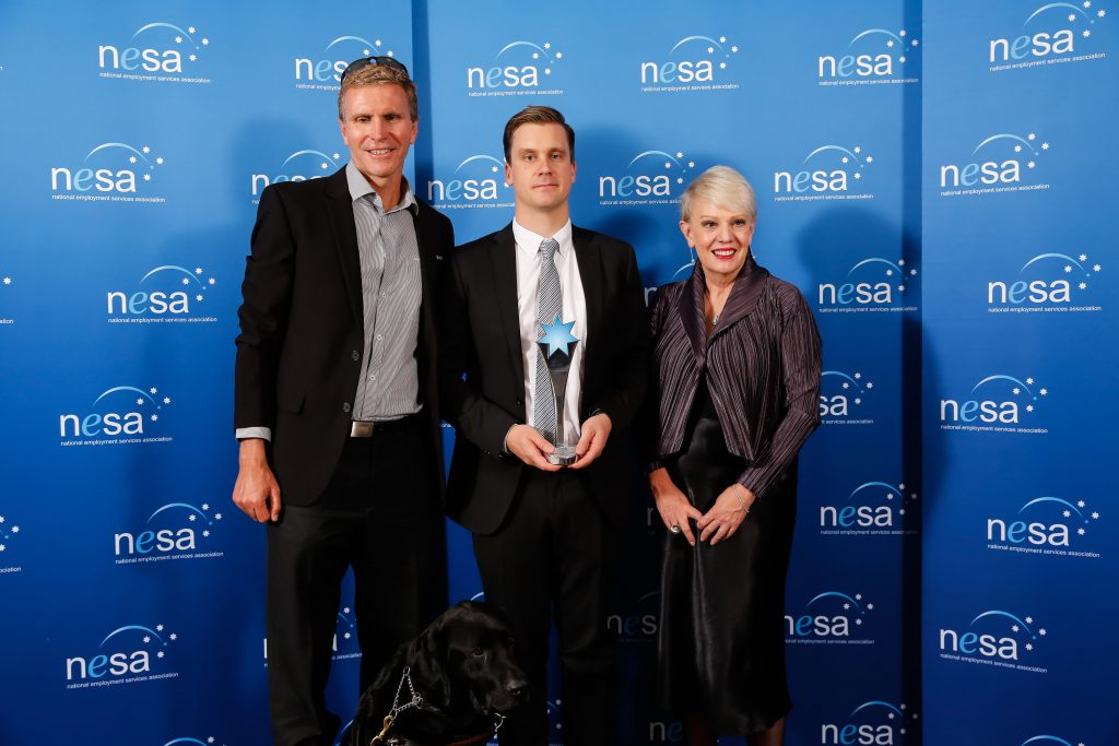 Innovation in Disability Employment – Team – Winner - Tradco Pty Ltd, nominated by The Royal Society of the Blind, Adelaide, SA