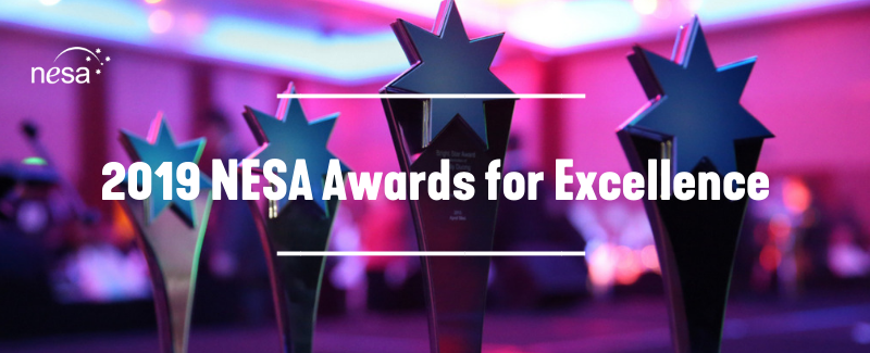 2019 NESA Awards for Excellence Banner