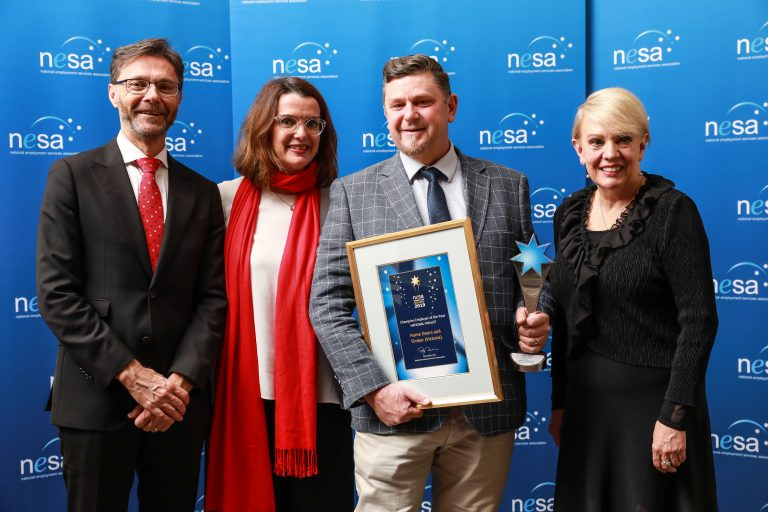Champion Employer of the Year Hume Doors and Timber VIC 768x512 - 2021 NESA Awards for Excellence