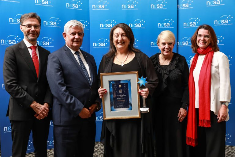 Employment Consultant of the Year Annie Crasti 768x512 - 2021 NESA Awards for Excellence