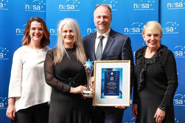 Innovation in Disability Employment Help Employment and Training Toowoomba 768x512 - 2021 NESA Awards for Excellence