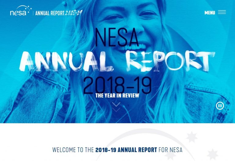 NESA AR Homepage screenshot 768x525 - NESA Annual Reports