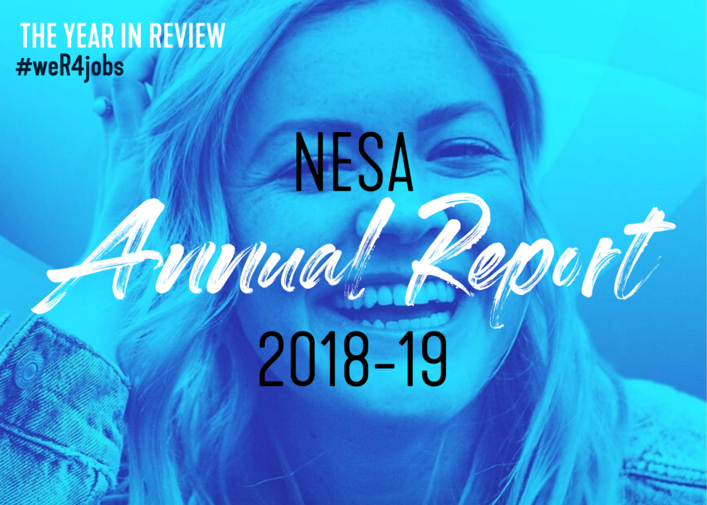 NESA Annual Report 2018 19 IMAGE 1024x731 - Home | National Employment Services Association - NESA