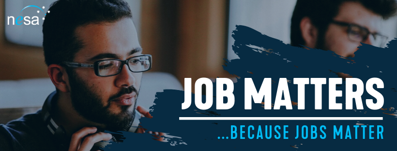 Job Matters Newsletters Mailchimp Banner July 2020 - NESA Communications