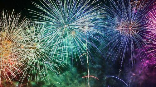 Unsplash Fireworks